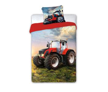 Traktor Dekbedovertrek 140 x 200 +70x90cm 100% katoen