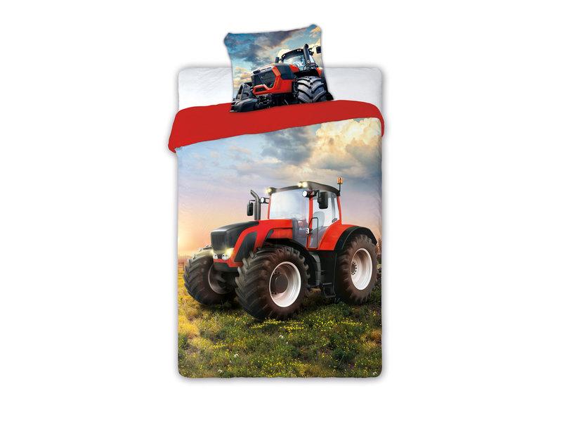 Traktor Housse de couette - Unique - 140 x 200 cm - Multi