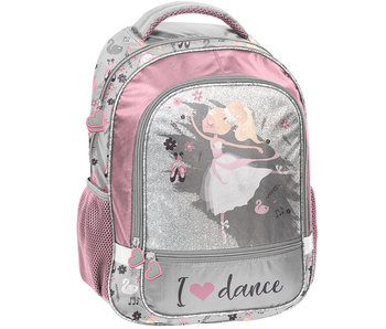 Ballerina Backpack I love dance 42 cm