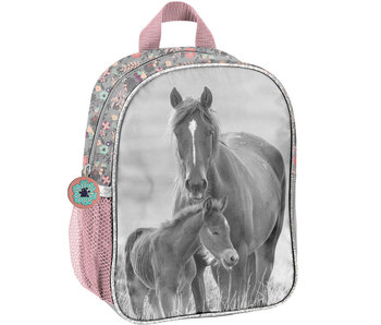 Animal Pictures Horses Toddler backpack 28 cm