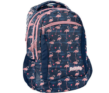 BeUniq backpack Flamingo 43x30x20