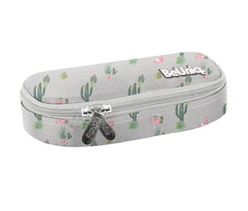 BeUniq Cactus and flamingo pouch 23 cm
