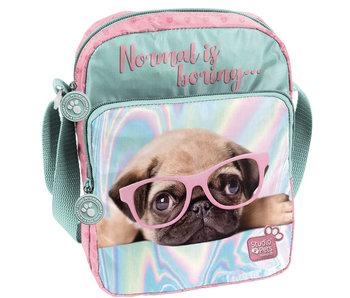 Studio Pets Normal bore shoulder bag is 24 cm