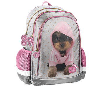 Studio Pets Hooded puppy backpack 42 x 30 x 18 cm
