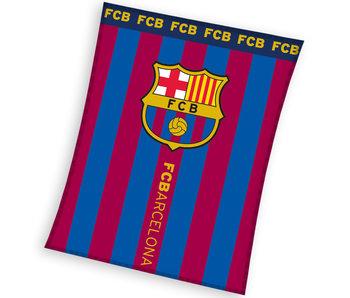 FC Barcelona Fleeceplaid 110 x 140 cm