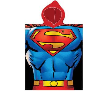 Superman Poncho Körper 50 x 115 cm