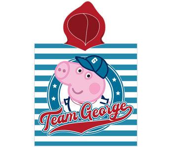 Peppa Pig Poncho équipe George 50 x 115 cm