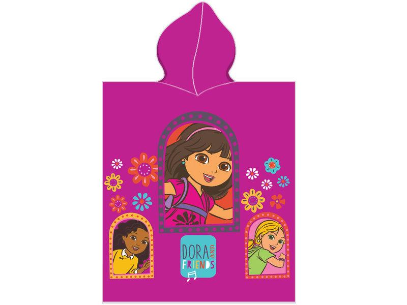Dora Liebe meine Freunde - Poncho - 50 x 115 cm - Multi