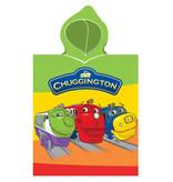 Chuggington 3 treinen - poncho - 50 x 115 cm - Multi