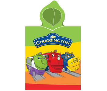 Chuggington Poncho 3 treinen 50 x 115 cm