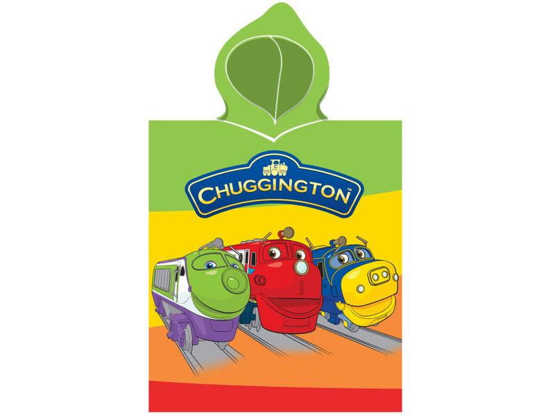 Chuggington 3 trains - poncho - 50 x 115 cm - Multi