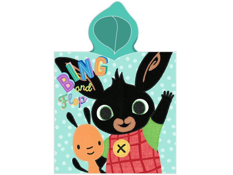 Bing Bunny Flop - poncho - 50 x 115 cm - Multi