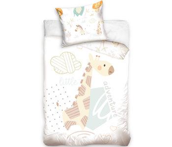 Giraf BABY dekbedovertrek 100 x 135 cm