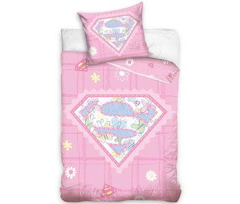 Superman BABY dekbedovertrek 100 x 135 cm