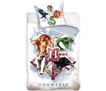 Harry Potter Dekbedovertrek Wapenschild - 140 x 200 cm