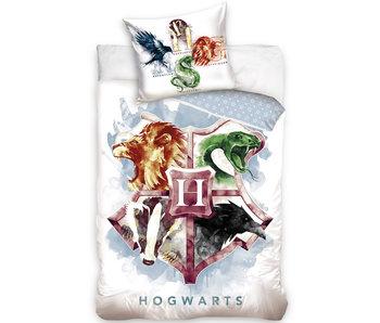 Harry Potter Housse de couette Armoiries - 140 x 200 cm