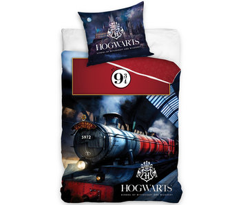 Harry Potter Dekbedovertrek Hogwarts Express - 140 x 200 cm