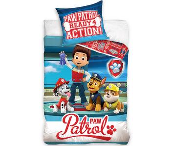 PAW Patrol Dekbedovertrek Action - 140 x 200 cm