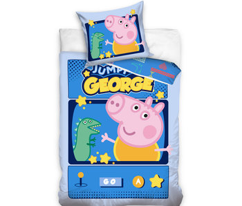 Peppa Pig Bettbezug Jumpy George 140 x 200 cm