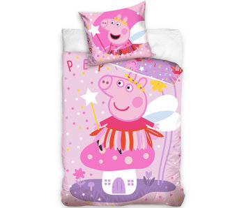 Peppa Pig Bettbezug Fee - 140 x 200 cm