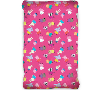 Peppa Pig Fitted sheet 90 x 200 cm