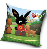 Bing Bunny Coussin Puppy - 40 x 40 cm - Multi