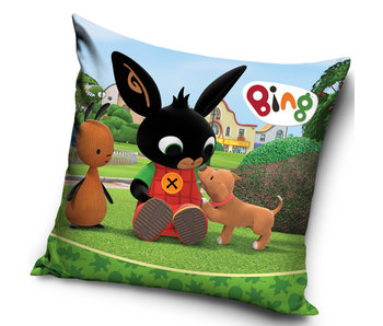 Bing Bunny Cushion Puppy 40 x 40 cm