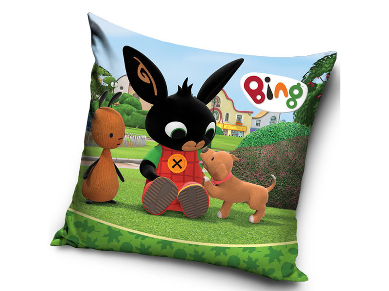 Bing Bunny Cushion Puppy - 40 x 40 cm - Multi