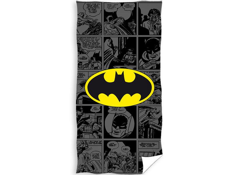 Batman Beach towel Signal - 70 x 140 cm - Black