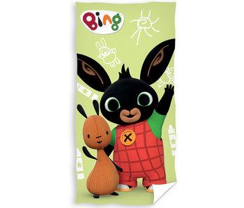 Bing Bunny Serviette de plage Hello 70 x 140 cm