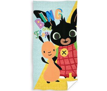 Bing Bunny Serviette de plage Flop 70 x 140 cm
