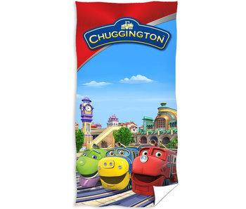 Chuggington Strandlaken Station 70 x 140 cm
