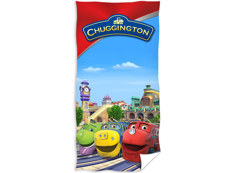 Chuggington Beach towel Station - 70 x 140 cm - Multi