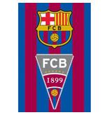 FC Barcelona Strandtuch Flagge - 70 x 140 cm - Multi