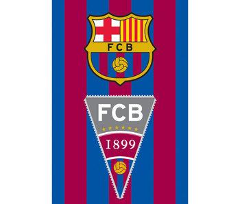 FC Barcelona Serviette de plage Drapeau 70 x 140 cm