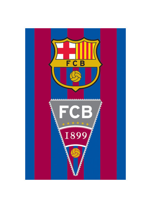 FC Barcelona Strandlaken Vlag 70 x 140 cm