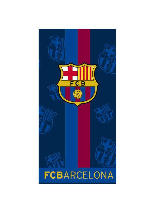 FC Barcelona Strandlaken Stripe 70 x 140 cm