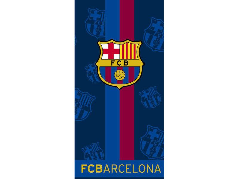 FC Barcelona Strandtuchstreifen - 70 x 140 cm - Multi