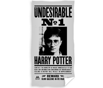 Harry Potter Beach towel Wanted 70 x 140 cm