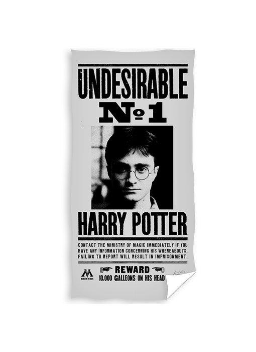 Harry Potter Strandlaken Wanted 70 x 140 cm