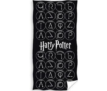 Harry Potter Serviette de plage Magic 70 x 140 cm
