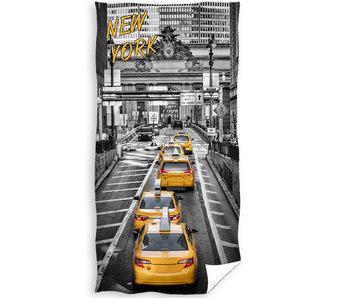 New York Strandtuch Yellow Cab 70 x 140 cm
