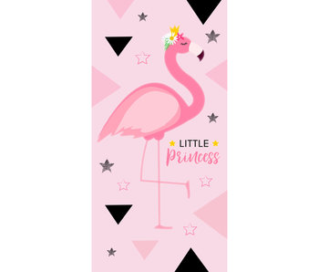 Flamingo Beach towel Little Princess 70 x 140 cm
