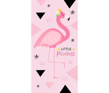 Flamingo Strandtuch Kleine Prinzessin 70 x 140 cm