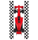 Formule-1 Beach towel racing car - 70 x 140 cm - Multi