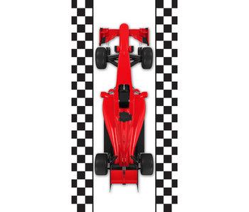 Formule-1 Strandtuch Rennwagen 70 x 140 cm