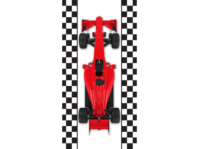 Formule-1 Strandlaken Racewagen - 70 x 140 cm - Multi