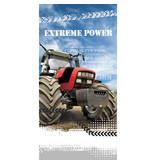 Tractor Beach towel Extreme Power - 70 x 140 cm - Multi
