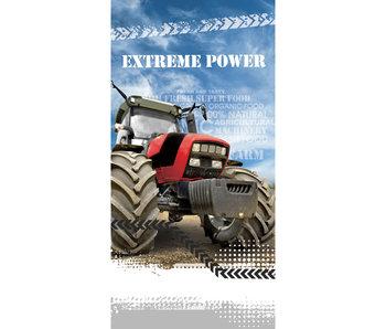 Traktor Serviette de plage Extreme Power 70 x 140 cm