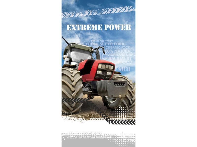 Tractor Serviette de plage Extreme Power - 70 x 140 cm - Multi